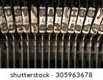 close up horizontal photograph... | Shutterstock . vector #305963678