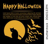 Halloween Card With A...