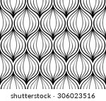abstract vector ornament.... | Shutterstock .eps vector #306023516