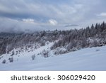 Winter Scenery In The Mountain...