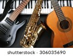 musical instruments  closeup | Shutterstock . vector #306035690