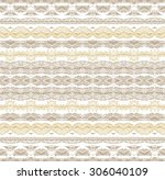 seamless laced pattern | Shutterstock .eps vector #306040109