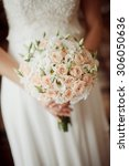 beautiful wedding bouquet of...   Shutterstock . vector #306050636