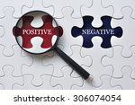 magnifying glass on missing...   Shutterstock . vector #306074054