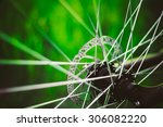 Bicycle Wheel In The Summer...