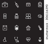 medical icons    Shutterstock .eps vector #306116390