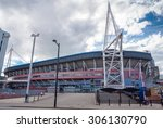 Постер, плакат: The Millennium Stadium at