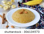 Halava Dessert With Almond And...