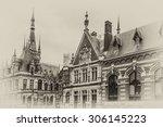 fecamp abbey  abbaye de la...   Shutterstock . vector #306145223