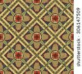 medieval pattern | Shutterstock .eps vector #306147509