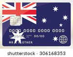 an illustration of a credit... | Shutterstock . vector #306168353