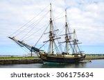 salem maritime national... | Shutterstock . vector #306175634