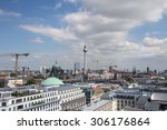 Berlin Germany Cityscape View...