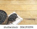 shallow dof of part of bowl... | Shutterstock . vector #306193394