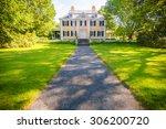 longfellow house washington's... | Shutterstock . vector #306200720
