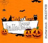 halloween | Shutterstock .eps vector #306237458
