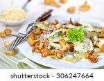 italian ravioli with fresh...   Shutterstock . vector #306247664