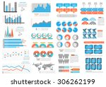 big set  collection of...   Shutterstock .eps vector #306262199
