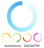circular preloader  buffer...
