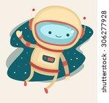 astronaut | Shutterstock .eps vector #306277928