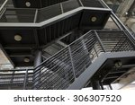 Emergency Exit Stairs Exterior...