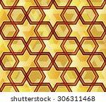 modern geometrical abstract... | Shutterstock .eps vector #306311468