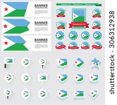djibouti independence day ... | Shutterstock .eps vector #306312938