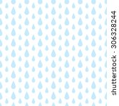 the pattern of blue drops of... | Shutterstock .eps vector #306328244
