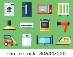 vector collection of household... | Shutterstock .eps vector #306343520