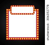film award design  vector... | Shutterstock .eps vector #306352778