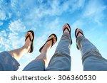 legs in the air   Shutterstock . vector #306360530