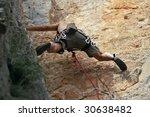 climber in action   Shutterstock . vector #30638482