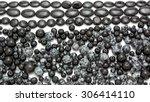 Snowflake Onyx Obsidian Stone...