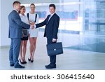 full length image of two... | Shutterstock . vector #306415640