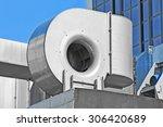 industrial steel air... | Shutterstock . vector #306420689