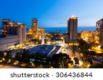 cement plant and power sation... | Shutterstock . vector #306436844
