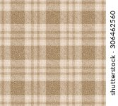 Beige And Brown Plaid Textured...