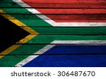 This Is A South African Flag On ...
