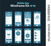 mobile app wireframe ui kit 18. ...