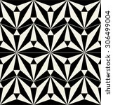 vector ceramic tiles with... | Shutterstock .eps vector #306499004