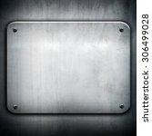 iron plate | Shutterstock . vector #306499028