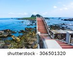 walking on the 8 arches bridge... | Shutterstock . vector #306501320