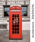 Red Phone Box In London  United ...
