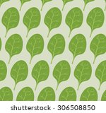 Spinach Background. Vector...