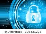 dark blue color light abstract... | Shutterstock .eps vector #306531278