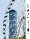 Ferris Wheel In Atlanta With...