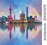 shanghai  china | Shutterstock . vector #306541070