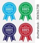 guaranteed badge | Shutterstock .eps vector #306561758