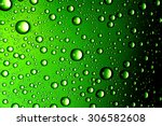 water drops close up. abstract...   Shutterstock . vector #306582608