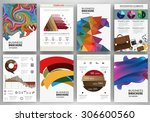 abstract vector backgrounds and ... | Shutterstock .eps vector #306600560